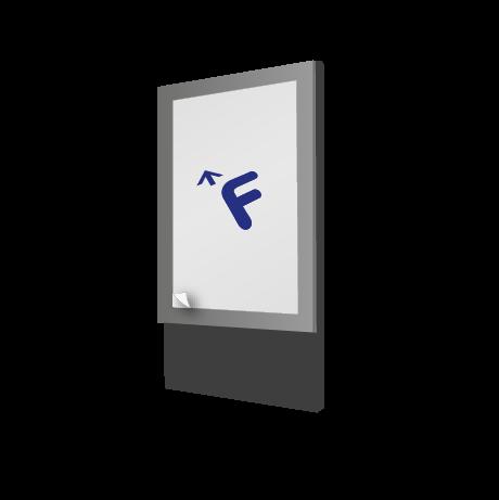 Backlightfolie mit freier Größe